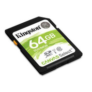 64GB SDXC Canvas Select 80R