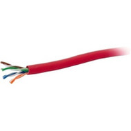 1000ft CAT5E SOLID CBL RED