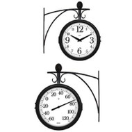 Outdoor Clock/Thermometer