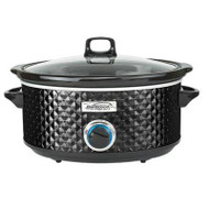 BS Slow Cooker Quilted 7qt Blk