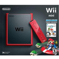 Wii Mini Red with Mario Kart