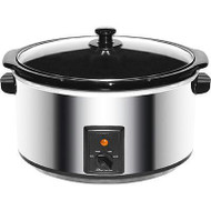 Slow Cooker Stainless 8Qt