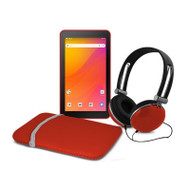 "Ematic 7""Android 8 1 Tab Red"
