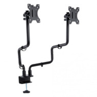 Monitor Arm Dual Black