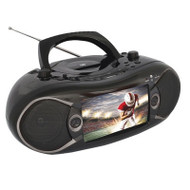 "7"" Bluetooth DVD Boombox TV"
