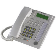 24 Button Speakerphone 3 Line LCD White