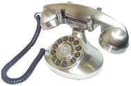 Alexis 1922 Decorator Phone Silver
