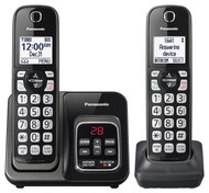 2HS Cordless Telephone ITAD Met Black