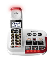 Amplified Cordless with Answering in Whi