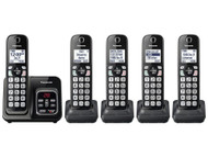 5HS Cordless Telephone ITAD Met Black