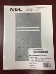 For 12-Button Telephones / Gray (Pkg 25)
