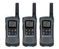 3 Pack FRS 20 Mile Range Gray Radios