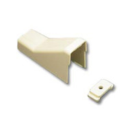 CEILING ENTRY AND CLIP 1 3/4 WHITE 10PK