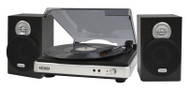 3 Speed Turntable with Stereo Speakers