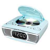 Bluetooth Bedside Stereo CD FM Teal