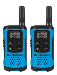 T100 2 Pack 16 Mile Range Blue Radios
