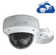 4MP Dome IP Camera for Cloud Recording