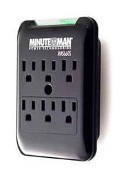 6 Outlet Wall Tap Surge Suppressor 540J