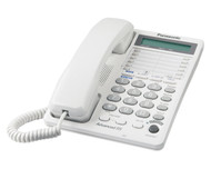2-Line Feature Phone with LCD White
