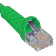 PATCH CORD CAT 5e MOLDED BOOT 25' GN
