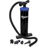 Aqua Leisure Heavy-Duty, Dual-Action Hand Pump w\/4 Tips [AQX18967]