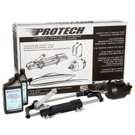Uflex PROTECH 1.1 Front Mount OB Hydraulic System - Includes UP28 FM Helm, Oil  UC128-TS\/1 Cylinder - No Hoses [PROTECH 1.1]
