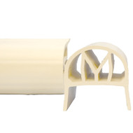 Monarch NorEaster M-Fender - 4 - White - 2 x 4 Mounting [DFW4X-4]