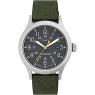 Timex Expedition Scout - Black Dial - Green Strap [TW4B22900JV]