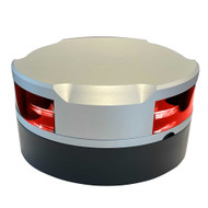 Lopolight 360 Navigation Light - 2nm f\/Vessels Up To 164(50M) - 0.7M Cable - Red w\/Silver Housing [200-014G2]