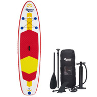 Aqua Leisure 10 Inflatable Stand-Up Paddleboard Drop Stitch w\/Oversized Backpack f\/Board  Accessories [APR20925]