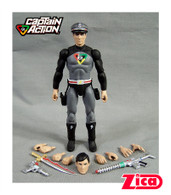Comic Action Heroes Captain Action (Stealth Suit Variant)