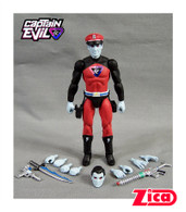 Comic Action Heroes Captain Evil