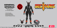 Sectaurs General Spidrax (Shadow Armor)