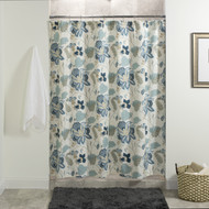SAVANNAH FLORAL SHOWER CURTAIN