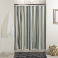 SAVANNAH STRIPE SHOWER CURTAIN