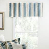 SAVANNAH STRIPE VALANCE