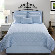 CARLYLE QUILT BLUE
