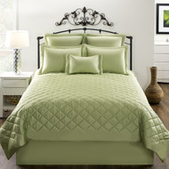 CARLYLE QUILT GREEN
