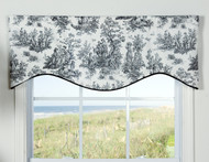 JAMESTOWN SHAPED VALANCE