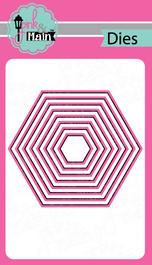 Nested Hexagon Dies