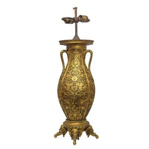 An Exceptional Gilt Bronze Exhibition Barbedienne Vase