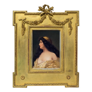 A Fabulous German K.P.M. Porcelain Plaque