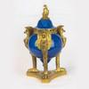 Sèvres Style Cobalt Blue Glaze and Ormolu Mounted Brule Parfums