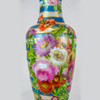 Opaline Painted Vase Lamp by Baccarat