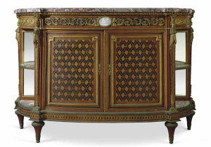 A French 19th Century Ormolu Marble-top Commode by Zwiener-Jansen Successeur