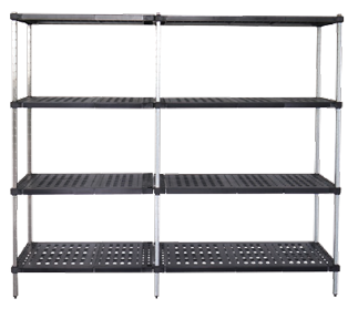 Add-on units of Mantova Real Tuff coldroom shelves can be bought online in Coldroom Shelving Brisbane.