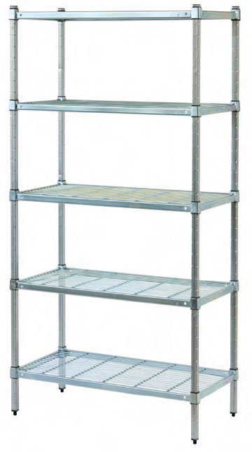 Wire shelves in Coldroom Shelving Brisbane have specifications.
