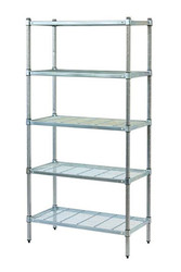 5-tier Mantova wire shelves can be bought online in Coldroom Shelving Brisbane.