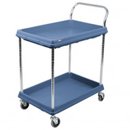 BC UTILITY CART-2 TIER;SLATE BLUE  BC2636.2D.MB