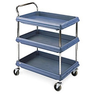 BC UTILITY CART-3 TIER;SLATE BLUE  BC2636.3D.MB